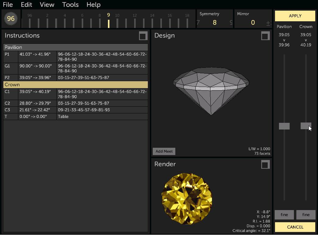 Gem Cut Studio – Gem Cutting Software